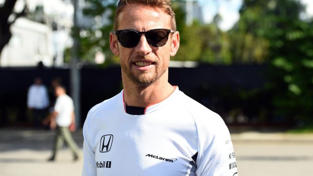 Jenson Button (GBR) McLaren at Formula One World Championship, Rd15, Singapore Grand Prix, Preparations, Marina Bay Street Circuit, Singapore, Thursday 15 September 2016. &copy&#x3b; Sutton Images