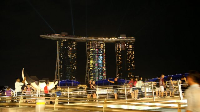 Scenic view at Formula One World Championship, Rd15, Singapore Grand Prix, Practice, Marina Bay Street Circuit, Singapore, Friday 16 September 2016. &copy&#x3b; Sutton Images