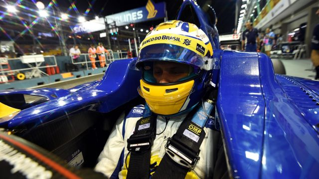 Marcus Ericsson (SWE) Sauber C35 at Formula One World Championship, Rd15, Singapore Grand Prix, Practice, Marina Bay Street Circuit, Singapore, Friday 16 September 2016. &copy&#x3b; Sutton Images