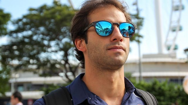 Felipe Nasr (BRA) Sauber at Formula One World Championship, Rd15, Singapore Grand Prix, Practice, Marina Bay Street Circuit, Singapore, Friday 16 September 2016. &copy&#x3b; Sutton Images