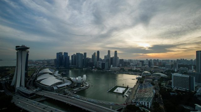 Scenic view at Formula One World Championship, Rd15, Singapore Grand Prix, Qualifying, Marina Bay Street Circuit, Singapore, Saturday 17 September 2016. &copy&#x3b; Sutton Images