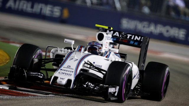 Valtteri Bottas (FIN) Williams FW38 at Formula One World Championship, Rd15, Singapore Grand Prix, Qualifying, Marina Bay Street Circuit, Singapore, Saturday 17 September 2016. &copy&#x3b; Sutton Images