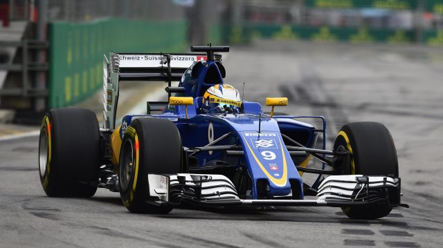 Marcus Ericsson (SWE) Sauber C35 at Formula One World Championship, Rd15, Singapore Grand Prix, Qualifying, Marina Bay Street Circuit, Singapore, Saturday 17 September 2016. &copy&#x3b; Sutton Images