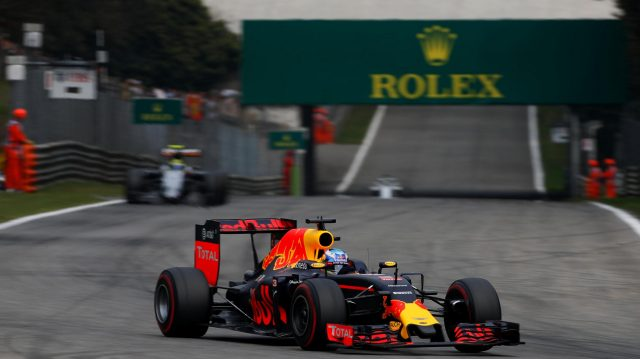 Daniel Ricciardo (AUS) Red Bull Racing RB12 at Formula One World Championship, Rd14, Italian Grand Prix, Race, Monza, Italy, Sunday 4 September 2016. &copy&#x3b; Sutton Images