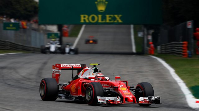 Kimi Raikkonen (FIN) Ferrari SF16-H at Formula One World Championship, Rd14, Italian Grand Prix, Race, Monza, Italy, Sunday 4 September 2016. &copy&#x3b; Sutton Images