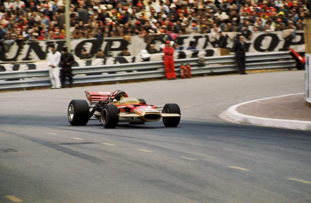Monte Carlo, 1970: Jochen Rindt claimed a dramatic first victory in the Principality after passing Jack Brabham on the final corner of the race. &copy&#x3b; Sutton