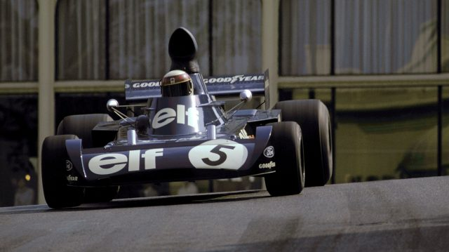 Jackie Stewart (GBR) Tyrrell 006/2 took his 25th GP victory in Monaco in 1973. &copy&#x3b; Sutton Motorsport Images