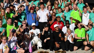 USA stats - Mercedes the fourth to four straight titles