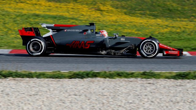 Kevin Magnussen (DEN) Haas VF-17 at Formula One Testing, Day One, Barcelona, Spain, 27 February 2017. &copy&#x3b; Sutton Images