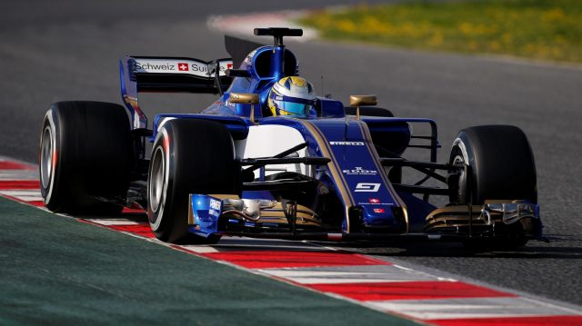 Marcus Ericsson (SWE) Sauber C36 at Formula One Testing, Day One, Barcelona, Spain, 27 February 2017. &copy&#x3b; Sutton Images