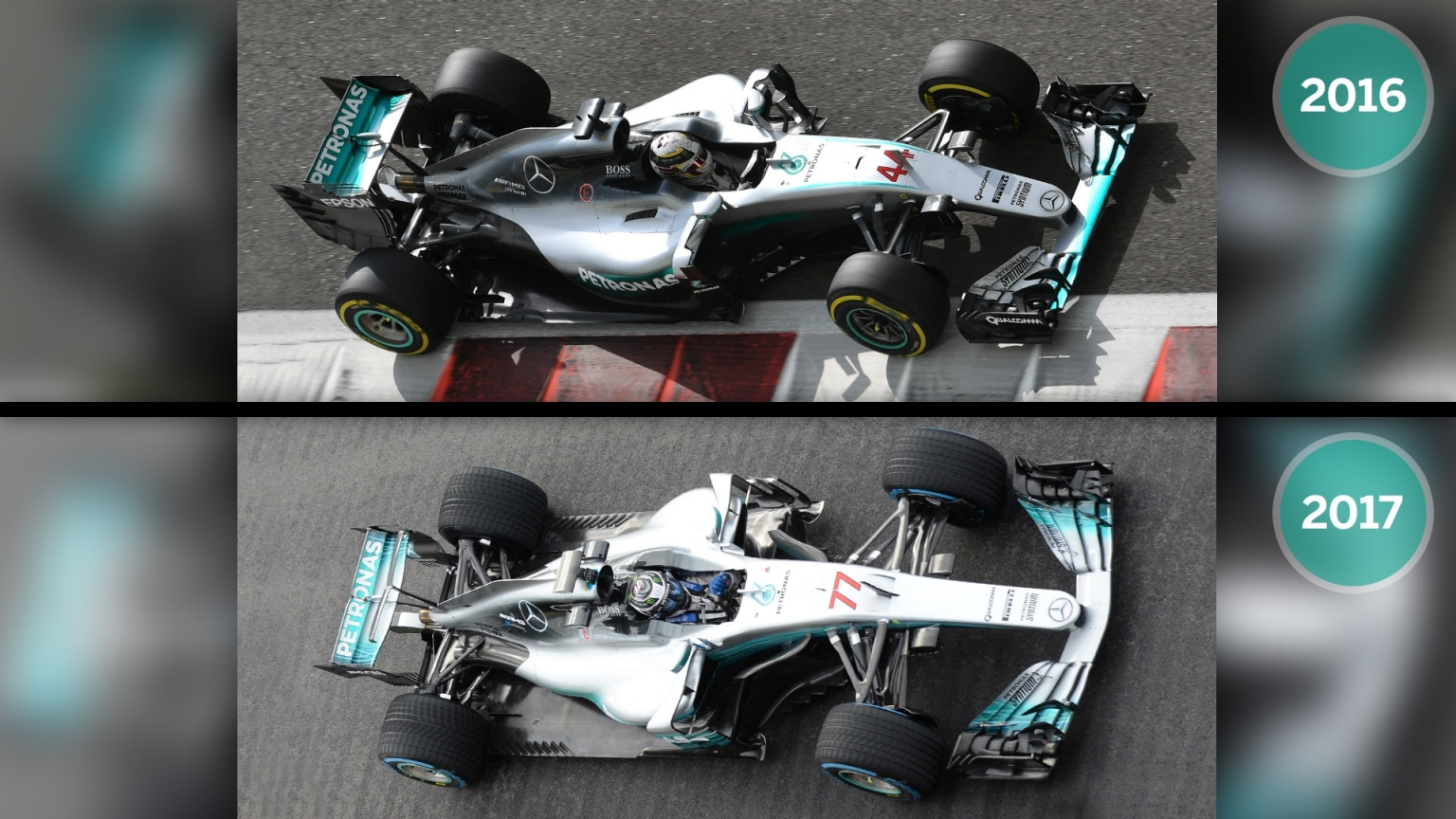 gallery: how the 2017 mercedes compares to last year's car