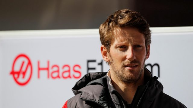 Romain Grosjean (FRA) Haas F1 at Formula One Testing, Day One, Barcelona, Spain, 27 February 2017. &copy&#x3b; Sutton Images