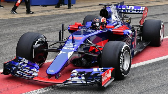 Daniil Kvyat (RUS) Scuderia Toro Rosso STR12 at Formula One Testing, Day Two, Barcelona, Spain, 28 February 2017. &copy&#x3b; Sutton Images