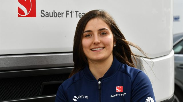 Tatiana Calderon (COL) Sauber Development Driver at Formula One Testing, Day Two, Barcelona, Spain, 28 February 2017. &copy&#x3b; Sutton Images