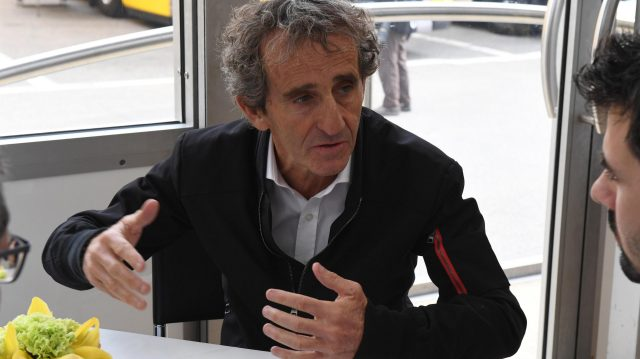 Alain Prost (FRA) Renault Sport F1 Team Special Advisor at Formula One Testing, Day Two, Barcelona, Spain, 28 February 2017. &copy&#x3b; Sutton Images