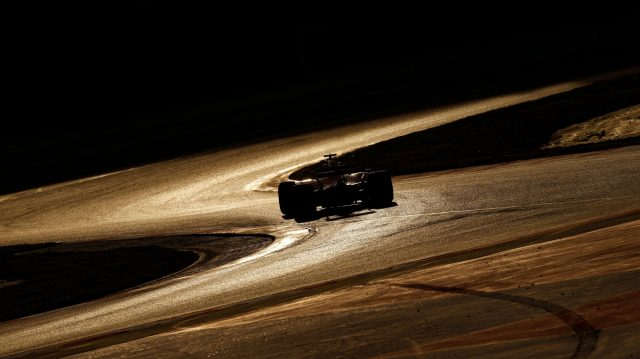 Low light action at Formula One Testing, Day Two, Barcelona, Spain, 28 February 2017. &copy&#x3b; Sutton Images