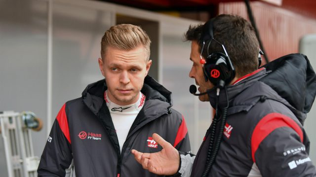Kevin Magnussen (DEN) Haas F1 at Formula One Testing, Day Two, Barcelona, Spain, 28 February 2017. &copy&#x3b; Sutton Images