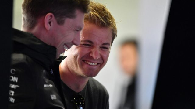 Nico Rosberg (GER) Mercedes-Benz Ambassador at Formula One Testing, Day Three, Barcelona, Spain, 1 March 2017. &copy&#x3b; Sutton Images