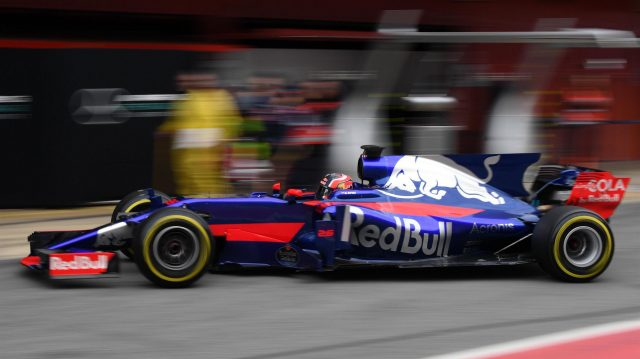 Daniil Kvyat (RUS) Scuderia Toro Rosso STR12 at Formula One Testing, Day Three, Barcelona, Spain, 1 March 2017. &copy&#x3b; Sutton Images