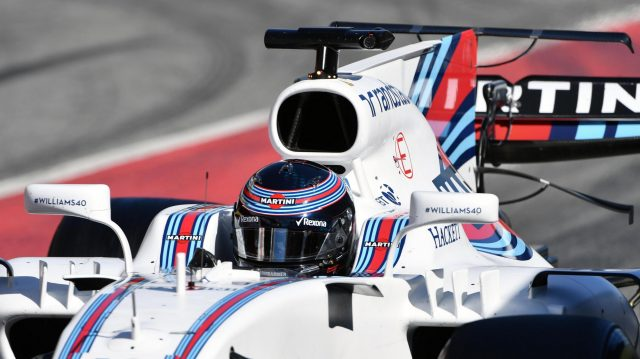 Lance Stroll (CDN) Williams FW40 at Formula One Testing, Day Three, Barcelona, Spain, 1 March 2017. &copy&#x3b; Sutton Images