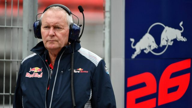 John Booth (GBR) Scuderia Toro Rosso at Formula One Testing, Day Three, Barcelona, Spain, 1 March 2017. &copy&#x3b; Sutton Images