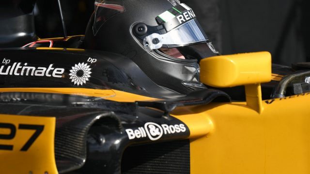 Nico Hulkenberg (GER) Renault Sport F1 Team RS17 at Formula One Testing, Day Four, Barcelona, Spain, 2 March 2017. &copy&#x3b; Sutton Images