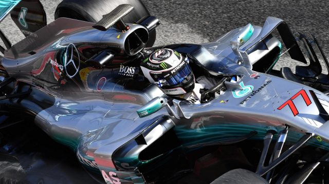 Valtteri Bottas (FIN) Mercedes-Benz F1 W08 Hybrid at Formula One Testing, Day Four, Barcelona, Spain, 2 March 2017. &copy&#x3b; Sutton Images