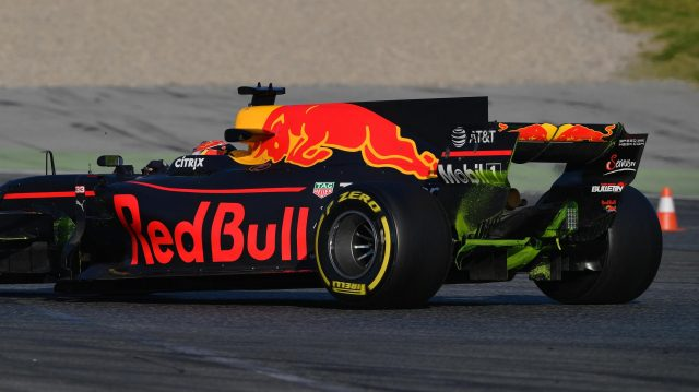 Max Verstappen (NED) Red Bull Racing RB13 at Formula One Testing, Day Four, Barcelona, Spain, 2 March 2017. &copy&#x3b; Sutton Images