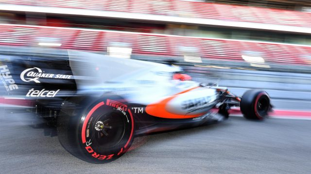 Esteban Ocon (FRA) Force India VJM10 at Formula One Testing, Day One, Barcelona, Spain, 7 March 2017. &copy&#x3b; Sutton Images