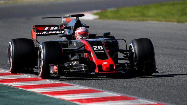 Kevin Magnussen (DEN) Haas VF-17 at Formula One Testing, Day One, Barcelona, Spain, 7 March 2017. &copy&#x3b; Sutton Images