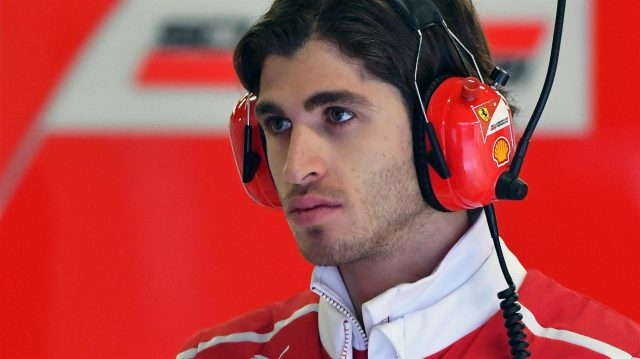 Antonio Giovinazzi (ITA) Ferrari Test and Reserve Driver at Formula One Testing, Day One, Barcelona, Spain, 7 March 2017. &copy&#x3b; Sutton Images