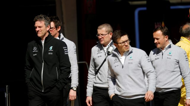 James Allison (GBR) Mercedes Technical Director at Formula One Testing, Day One, Barcelona, Spain, 7 March 2017. &copy&#x3b; Sutton Images