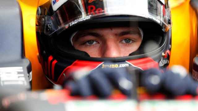 Max Verstappen (NED) Red Bull Racing RB13 at Formula One Testing, Day Two, Barcelona, Spain, 8 March 2017. &copy&#x3b; Sutton Images