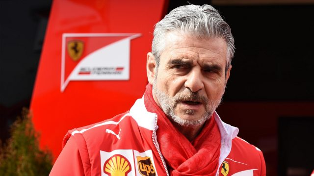 Maurizio Arrivabene (ITA) Ferrari Team Principal at Formula One Testing, Day Two, Barcelona, Spain, 8 March 2017. &copy&#x3b; Sutton Images