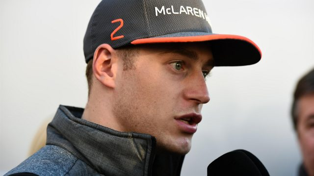 Stoffel Vandoorne (BEL) McLaren at Formula One Testing, Day Three, Barcelona, Spain, 9 March 2017. &copy&#x3b; Sutton Images