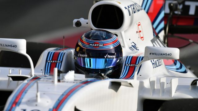 Lance Stroll (CDN) Williams FW40 at Formula One Testing, Day Three, Barcelona, Spain, 9 March 2017. &copy&#x3b; Sutton Images