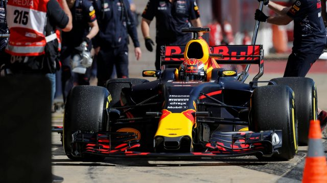 Max Verstappen (NED) Red Bull Racing RB13 at Formula One Testing, Day Four, Barcelona, Spain, 10 March 2017. &copy&#x3b; Sutton Images