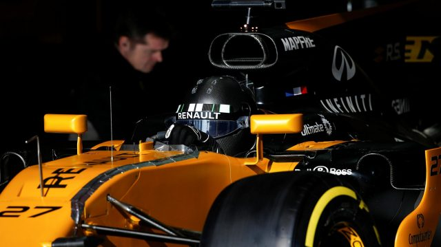 Nico Hulkenberg (GER) Renault Sport F1 Team RS17 at Formula One Testing, Day Four, Barcelona, Spain, 10 March 2017. &copy&#x3b; Sutton Images