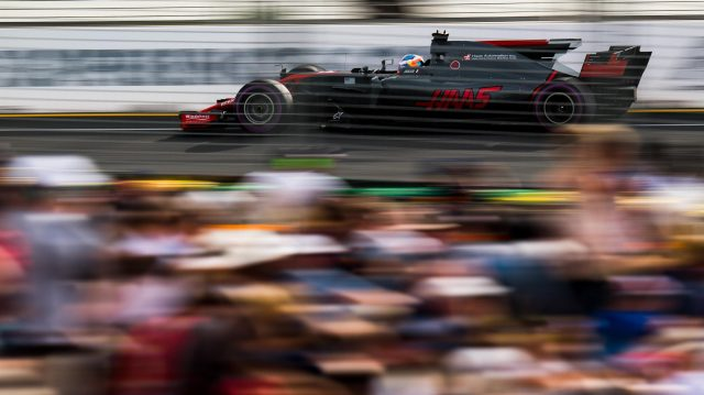 Romain Grosjean (FRA) Haas VF-17 at Formula One World Championship, Rd1, Australian Grand Prix, Practice, Albert Park, Melbourne, Australia, Friday 24 March 2017. &copy&#x3b; Sutton Motorsport Images