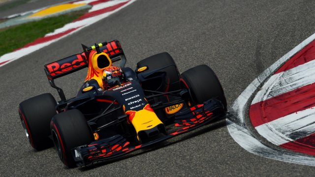 Max Verstappen (NED) Red Bull Racing RB13 at Formula One World Championship, Rd2, Chinese Grand Prix, Qualifying, Shanghai, China, Saturday 8 April 2017. &copy&#x3b; Sutton Motorsport Images