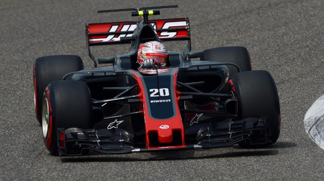 Kevin Magnussen (DEN) Haas VF-17 at Formula One World Championship, Rd2, Chinese Grand Prix, Qualifying, Shanghai, China, Saturday 8 April 2017. &copy&#x3b; Sutton Motorsport Images