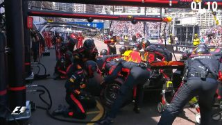 DHL Fastest Pit Stop Award: Red Bull rule in Monaco