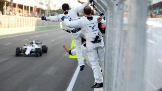 Azerbaijan stats - Stroll the youngest rookie to reach podium