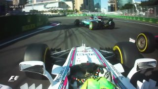 VIDEO: The best onboard action from Azerbaijan