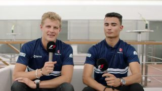 VIDEO: Grill the Grid - Sauber team mates