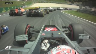 VIDEO: The best onboard action from Austria