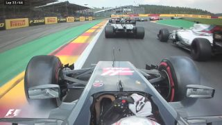 VIDEO: The best onboard action from Belgium