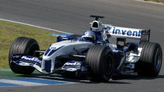 Gallery: when today's stars first tested an F1 car