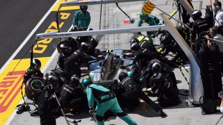 DHL Fastest Pit Stop Award: Mercedes to the fore