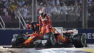 Singapore stats - A rare double DNF for Ferrari